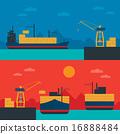 transportation, shipping, freight 16888484