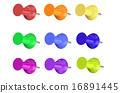 Color Push Pins 16891445