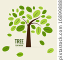Abstract tree. Vector illustration. 16899888