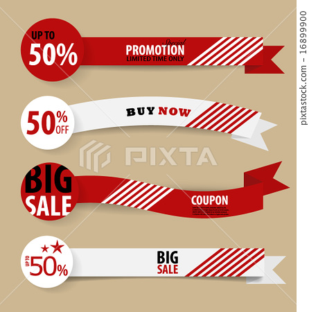 Sale Coupon Voucher Tag Vintage Style Template Design Vector