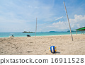 Beach volleyball  16911528