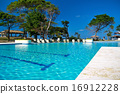 Tropical resort with swimming pool 16912228
