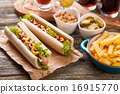 Hot dogs 16915770