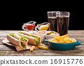 Hot dogs 16915776