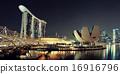 新加坡 天際線 海濱 16916796