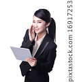 business woman use tablet 16917253