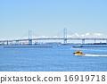 橫濱灣大橋 海洋 海灣大橋 16919718