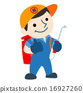pest control service logo cartoon vector 16927260