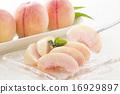 水果 桃子 桃 16929897