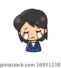 女企業家 哭 哭泣 16931238
