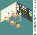 Vector 3d Flat Isometric With Education Concept 16933013