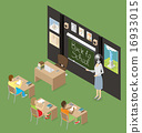 Vector 3d Flat Isometric With Education Concept 16933015