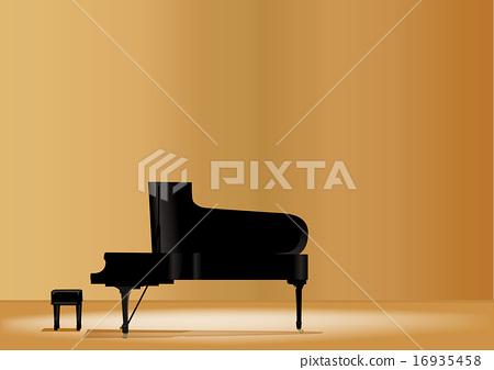 Grand Piano illustration 16935458