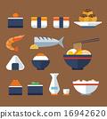japan food flat icon 16942620