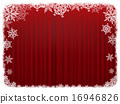 窗簾 幕布 框架 16946826