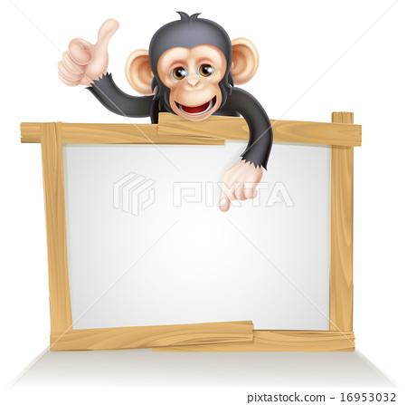 Monkey Sign 16953032