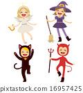Children Halloween Costumes 16957425
