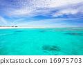 納幹努島——(慶良間諸島中的一個無人島) 海灘 沙灘 16975703