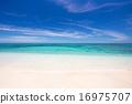 在沖繩島的海灘 16975707