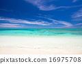 納幹努島——(慶良間諸島中的一個無人島) 海灘 沙灘 16975708