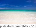 納幹努島——(慶良間諸島中的一個無人島) 海灘 沙灘 16975723