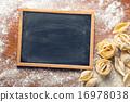 chalkboard, raw, pasta 16978038