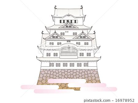 Himeji castle castle tower 16978952