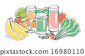 vegetable, vegetables, vectors 16980110