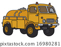 tank, truck, old 16980281