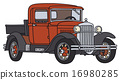 vintage, truck, small 16980285