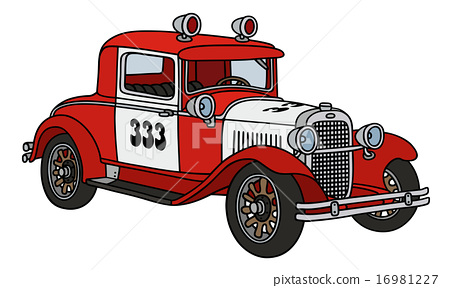 Vintage fire patrol car 16981227