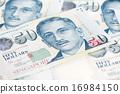 Singapore dollar note 16984150
