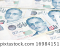 Singapore dollar note 16984151
