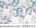 Singapore dollar note 16984152