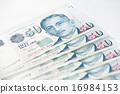 Singapore dollar note 16984153