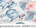Singapore dollar note 16984154