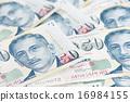 Singapore dollar note 16984155