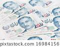 Singapore dollar note 16984156