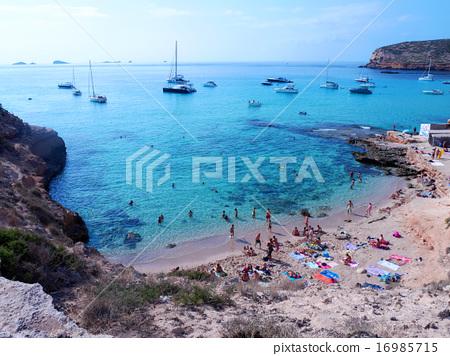 이비자 섬의 바다 / 스페인 이비자 섬 16985715