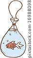 illustration goldfish vector 16988098