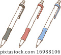 圆珠笔 水笔 书写工具 16988106