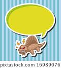 벡터, 공룡, 괴물 16989076