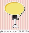 벡터, 배경, 장비 16989299