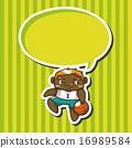 男孩 篮球 矢量 16989584