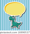 矢量图 恐龙 矢量 16990537