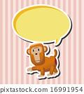원숭이, 벡터, 그림 16991954