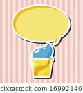 冰凍的 玉米 圓筒 16992140