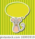 老鼠 向量 向量圖 16993919