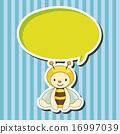 向量 向量圖 蜜蜂 16997039