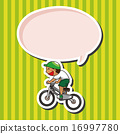 矢量 脚踏车 自行车 16997780